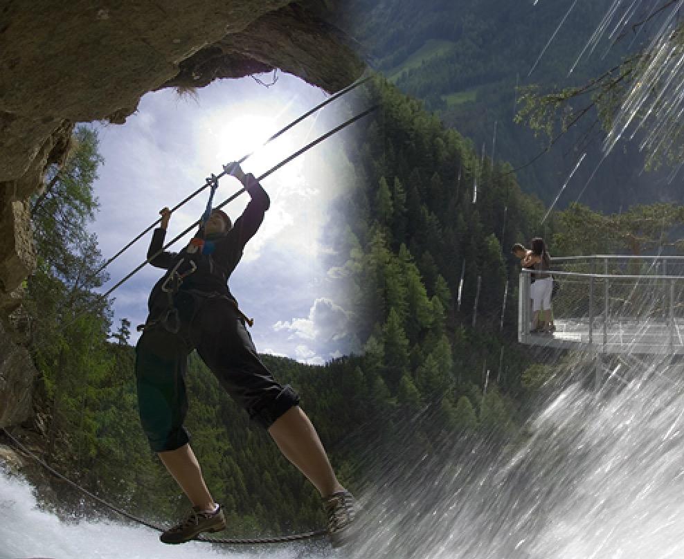Normaler Klettergurt Für Klettersteig : Beschreibung stuibenfall klettersteig umhausen