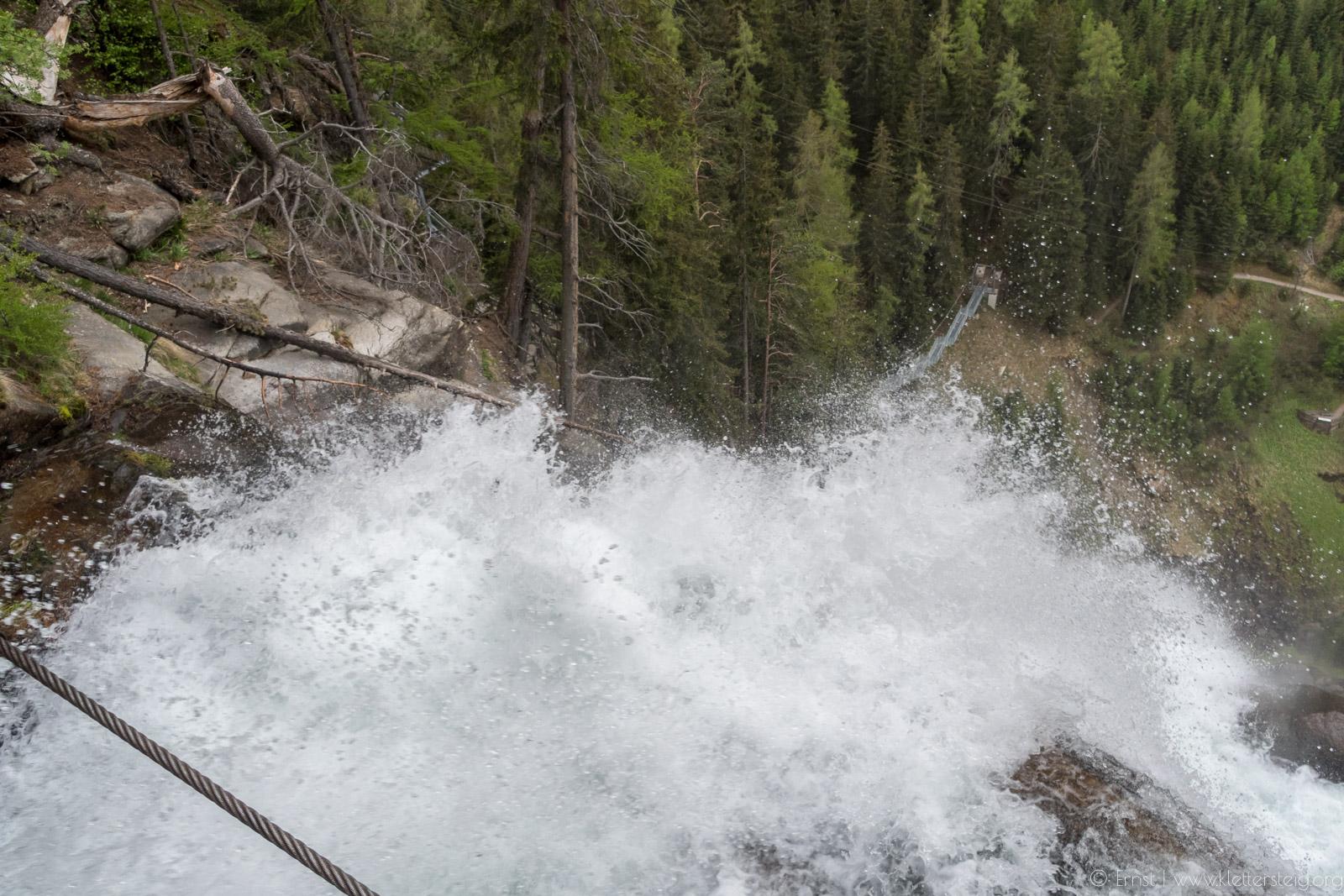 Stuibenfall Klettersteig / Mai 2018